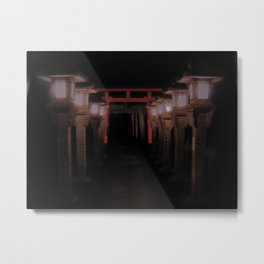 The Light Within (Kyoto, Japan) Metal Print
