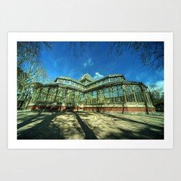 Crystal Palace of Madrid Art Print