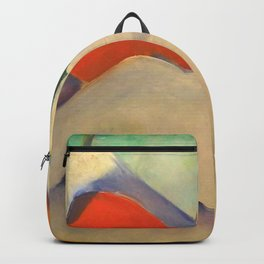 """Franz Marc """"Haystacks in the Snow"""" Backpack"""