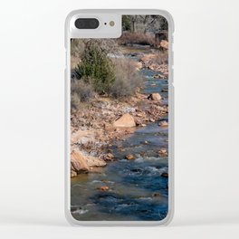 Virgin_River 4784 - Canyon_Junction, Zion_National_Park Clear iPhone Case