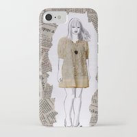 newspaper iPhone & iPod Cases featuring Newspaper by Melania B