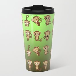 Funny Monkeys Travel Mug