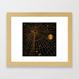 Chart the Stars Framed Art Print