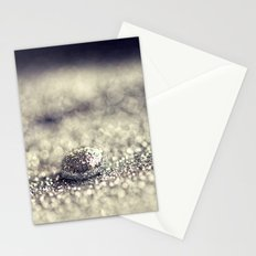 Silver Drop Stationery Cards