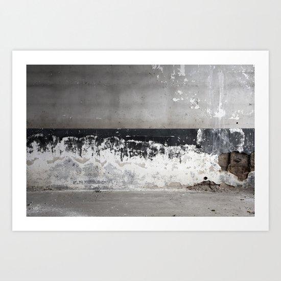 Decaying Wall Art Print