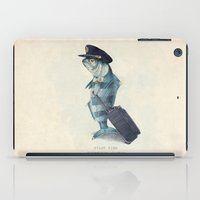 tree iPad Cases featuring The Pilot by Eric Fan