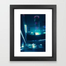 Dongdaemun at Night Framed Art Print