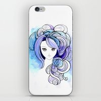 waterfall iPhone & iPod Skins featuring Waterfall by Sherry Yuan