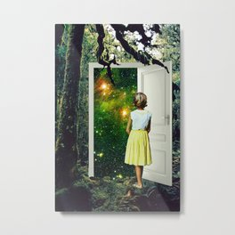 Portal in the Woods Metal Print