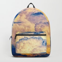 Layers Of Heavy Cumulus Clouds At Sunset Backpack