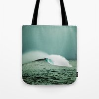 indonesia Tote Bags featuring Empty, Indonesia by Maggie Marsek Photography
