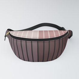 Color Block Line Abstract XI Fanny Pack