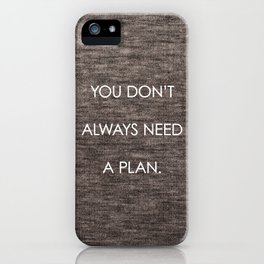 Plan iPhone Case