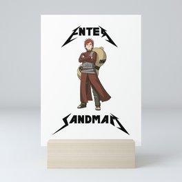 Enter Sandman Shinobi  Mini Art Print