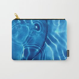 Water / H2O#14 (Water Abstract) Carry-All Pouch