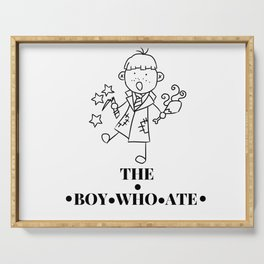 The Boy Who Ate Line Art - Ron Weasley Serving Tray