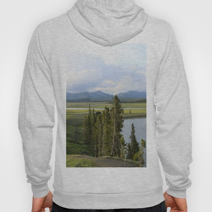 Yellowstone River Valley View Hoody