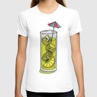 cuba T-shirts featuring Bajoca Box - Cuba Libre by Bajoca Box