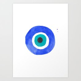 Evil Eye III Art Print