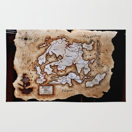 Map to the Afterlife Rug