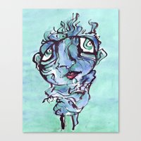 chill Canvas Prints featuring Chill by 5wingerone