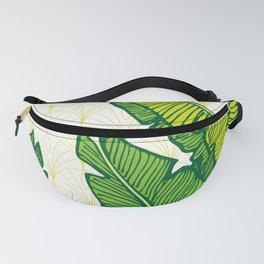 Tropical Leaves #society6 #decor #buyart Fanny Pack