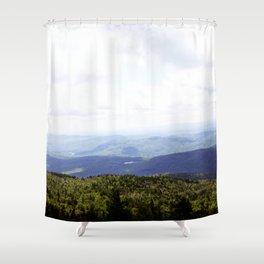 Summer Mountains Shower Curtain