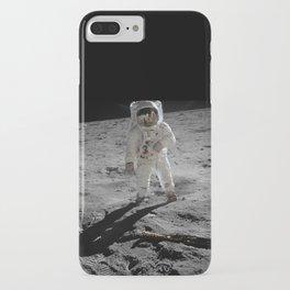 Astronaut Buzz Aldrin Apollo 11 original Photograph 1969 Standing on The Moon Print iPhone Case