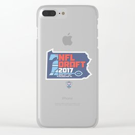 NFL Draft Day 2017 Clear iPhone Case