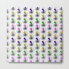 Marbles Metal Print