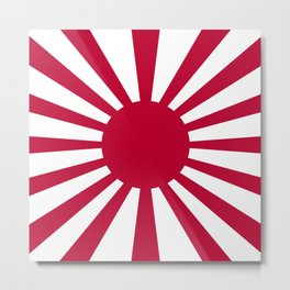 Historic War flag of the Imperial Japanese Army Metal Print