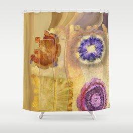 Seorita Weave Flower  ID:16165-024830-56081 Shower Curtain