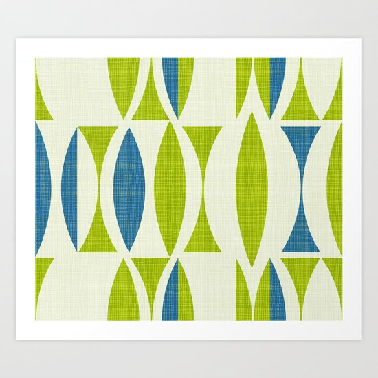 Seventies Collection Art Print
