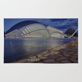 Valencia. City of Arts and Sciences Rug