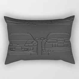 Supra Mk 4 Rectangular Pillow