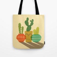 Cactus Trio Tote Bag