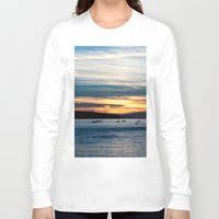 twilight Long Sleeve T-shirts featuring Twilight by Dana E