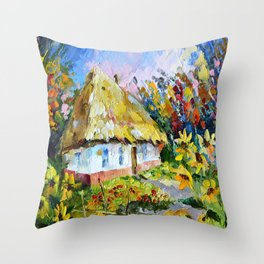 Country house # 2 Throw Pillow