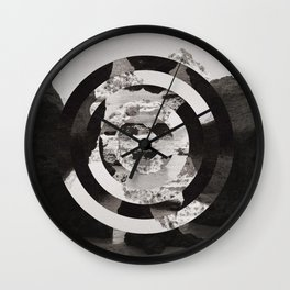 Algarve in Circles Wall Clock