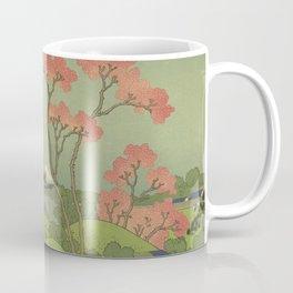 Japanese Print Coffee Mug