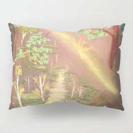 Faery forest cave Pillow Sham