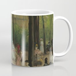 Luxembourg Gardens Oil Painting by William James Glackens Coffee Mug