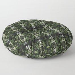 Maidenhair & Moonbeams 02 Floor Pillow