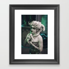 Demon's Muse Framed Art Print