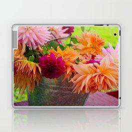 Bucket of Flowers  Laptop & iPad Skin