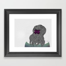 Niña Framed Art Print