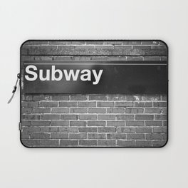 Subway Laptop Sleeve
