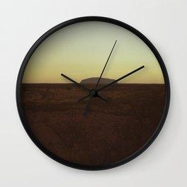 Uluru Dusk Wall Clock