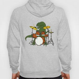 T-Rex Drummer Hoody