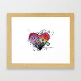 Art Ache Framed Art Print